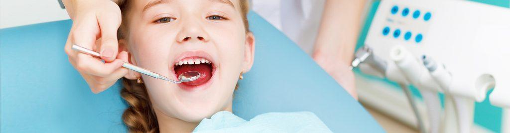 Пломбирование молочных зубов